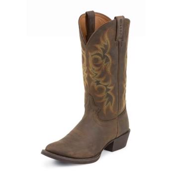 Justins MEN Boots Huck Brown SORREL APACHE
