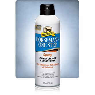 Horseman's one step® Spray Harness Cleaner & Conditioner