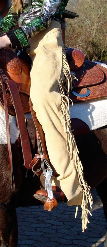 Western Ruskind Chaps TAN