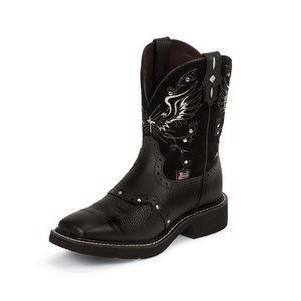 Justin Boots Gypsy BLACK DEERCOW