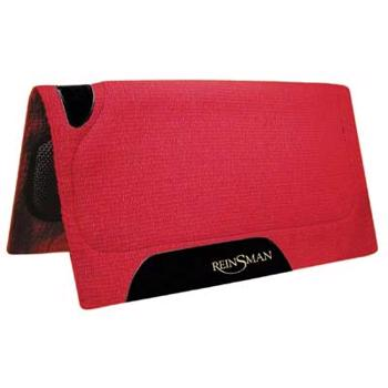 Reinsman Heavy Showpad m Uld/Fleece RED