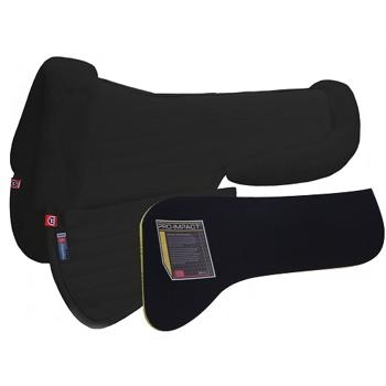 Ergonomisk All Purpose Coolback Half Pad - Black
