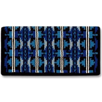 Broken Arrow 07 Showblanket - Royalblue/Periwinkle/Forget