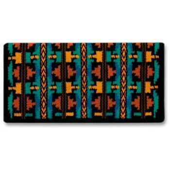 Broken Arrow 13 Showblanket - Ocean/Rust/Teal