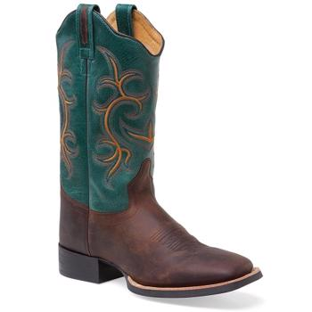 Old West Cowgirl Square Toe Boot