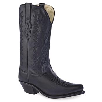 Old West Cowgirl Fashion Wear Boots - Black