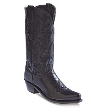 Old West Cowboy Fashion Wear Boots - Black