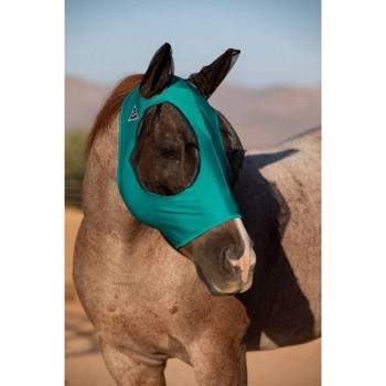 Comfort Fit Fly Mask - Teal Green