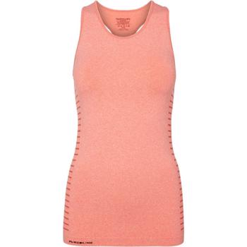 PureLime Seamless Tank Top - Coral Melange