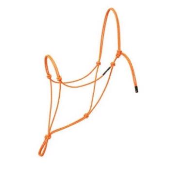 Weaver Silvertip Reflective Ropehalter - Orange (One size, Average)