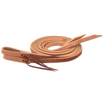 "Weaver work tack 1/2"" split reins 7' - Golden Chestnut"