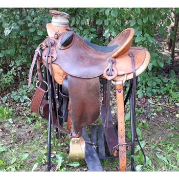 Kamloops WADE type ranch sadel 16""