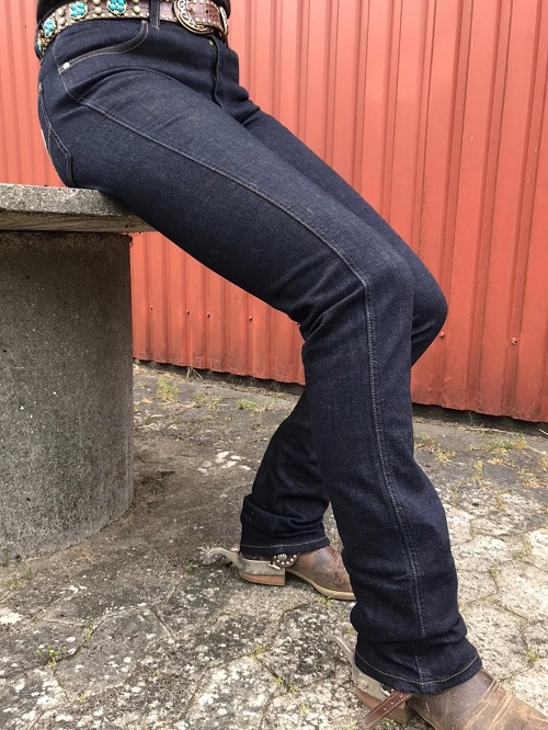Cowboy Classic Dark Blue Jeans med Boot Cut