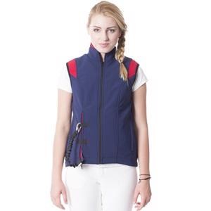 Helite Airshell VEST med Airbag BLUE/RED